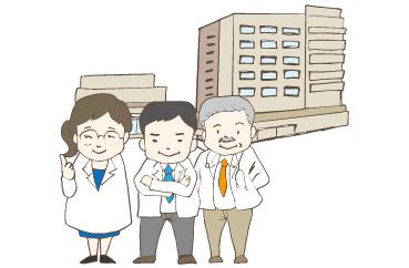 美祢市立病院・美祢市立美東病院の強み-山口大学病院の先生方の応援!